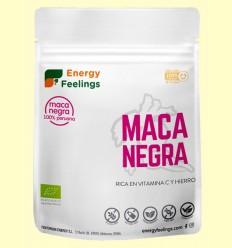 Maca Negra en Polvo Eco - Energy Feelings - 200 gramos
