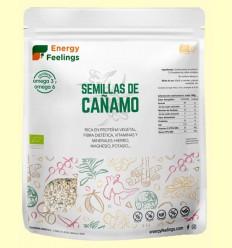 Cáñamo Semilla Entera Eco - Energy Feelings - 500 gramos