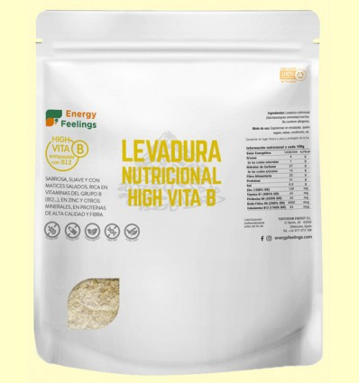Levadura Nutricional High VitaB - Energy Feelings - 250 gramos