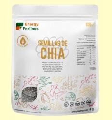 Semillas de Chía - Energy Feelings - 500 gramos