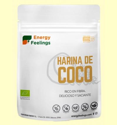 Harina de Coco Eco - Energy Feelings - 200 gramos