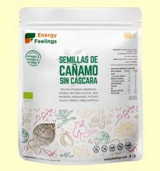 Cáñamo Semilla Pelada Al Vacío Eco - Energy Feelings - 500 gramos