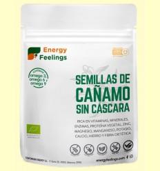 Cáñamo Semilla Pelada Al Vacío Eco - Energy Feelings - 250 gramos
