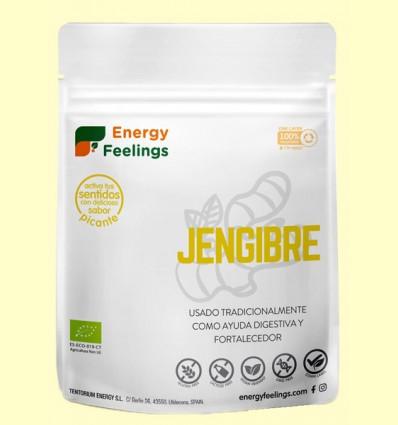 Jengibre en Polvo Eco - Energy Feelings - 200 gramos