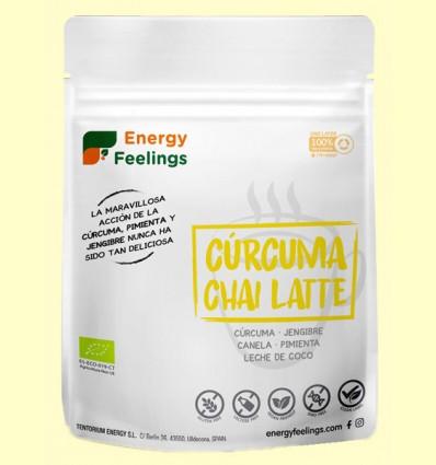 Cúrcuma Chai Latte Eco - Energy Feelings - 150 gramos