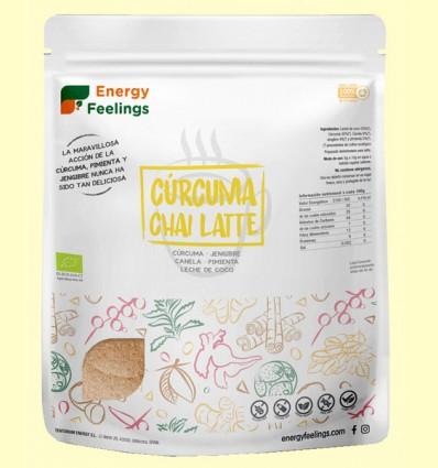 Cúrcuma Chai Latte Eco - Energy Feelings - 500 gramos
