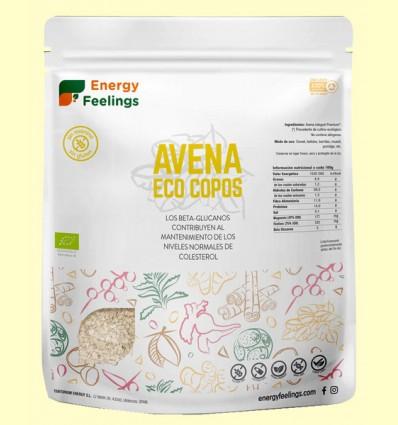 Copos de Avena Eco - Energy Feelings - 500 gramos