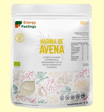 Harina de Avena Eco - Energy Feelings - 1 kg