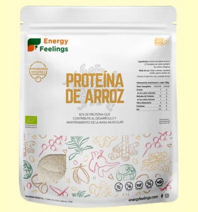 Proteína de Arroz Eco - Energy Feelings - 500 gramos
