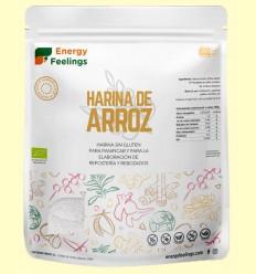 Harina de Arroz Eco - Energy Feelings - 1 kg