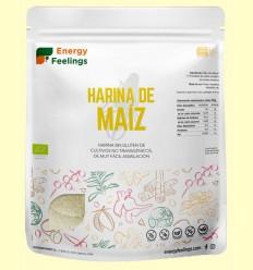 Harina de Maíz Eco - Energy Feelings - 1 kg