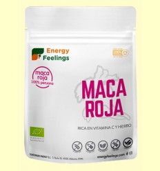 Maca Roja Ecológica - Energy Feelings - 200 gramos