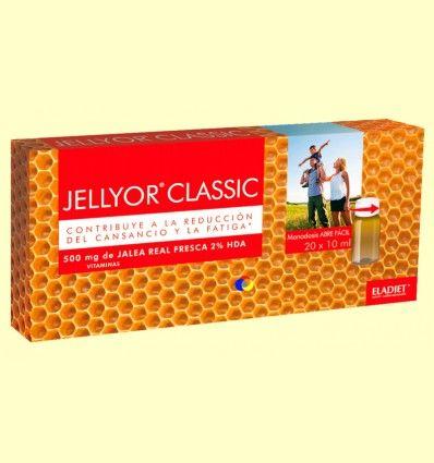 Jellyor Classic - Ayuda contra el cansancio - Eladiet - 20 monodosis