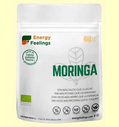 Moringa polvo Eco - Energy Feelings - 200 gramos