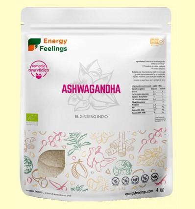 Ashwagandha polvo Eco - Energy Feelings - 1 kg
