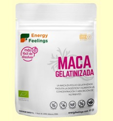 Maca Gelatinizada Eco - Energy Feelings - 200 gramos