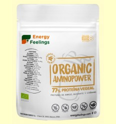 Organic Aminopower Eco 77% Sabor Vainilla - Energy Feelings - 200 gramos