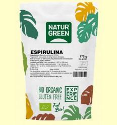 Espirulina Bio - NaturGreen - 175 gramos