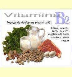 Riboflavina B2 - Artículo informativo de Pascual Martínez - Naturópata