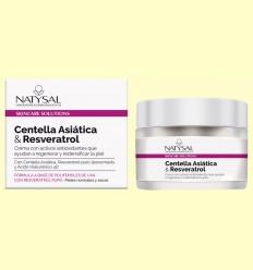 Crema de Centella Asiática y Resveratrol - Natysal - 50 ml