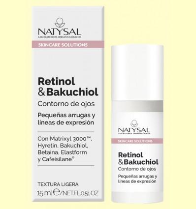 Contorno de ojos Retinol y Bakuchiol - Natysal - 15 ml