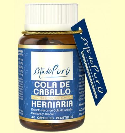 Cola de Caballo Herniaria Estado Puro - Tongil - 40 cápsulas