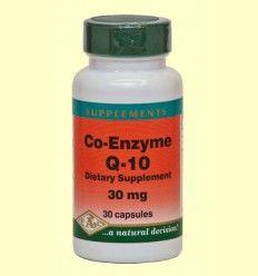 CoEnzima Q-10 - 30 mg - Bioener - 30 cápsulas