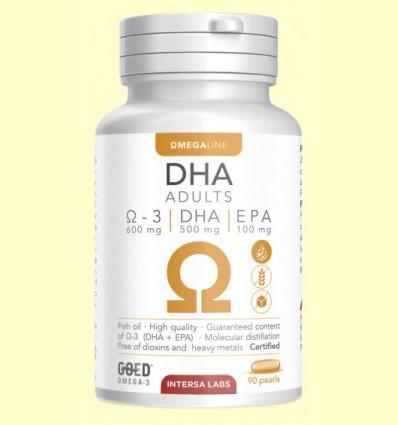 DHA Adultos - Omega 3 - Intersa - 90 perlas