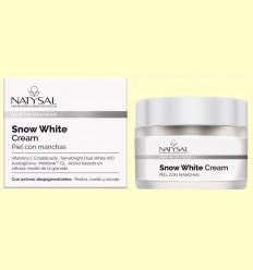 Snow White Cream - Piel con Manchas - Natysal - 50 ml