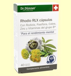 Rhodio RLX - Dr. Dünner - 40 cápsulas