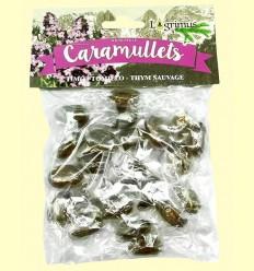 Caramullets Caramelos Artesanos de Tomillo Sin Azúcar - Lagrimus - 80 gramos
