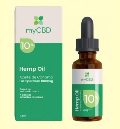 Aceite de CBD 10% - myCBD - 10 ml