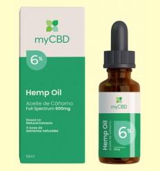 Aceite de CBD 6% - myCBD - 10 ml