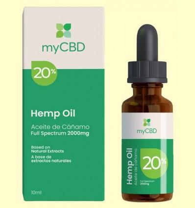Aceite de CBD 20% - myCBD - 10 ml