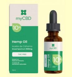 Aceite de CBD 10% THC Free - myCBD - 10 ml