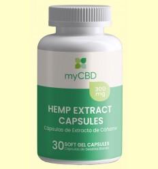 Cápsulas CBD 300 mg - myCBD - 30 cápsulas