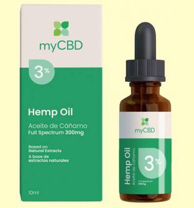 Aceite de CBD 3% - myCBD - 10 ml