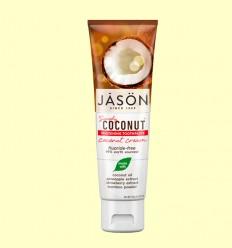 Dentífrico Crema de Coco Blanqueador - Jason - 119 gramos