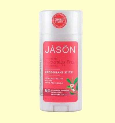 Desodorante Stick Naturally Fresh Mujer - Jason - 71 gramos