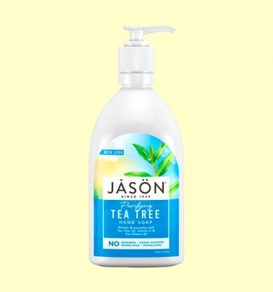 Jabón Facial y de Manos Árbol del Té - Jason - 473 ml