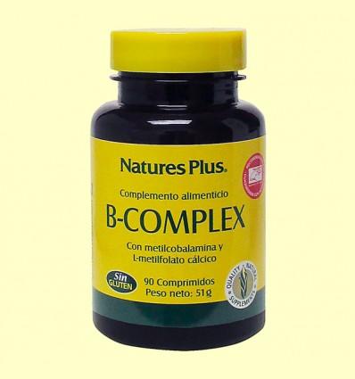 B-Complex Con Arroz Integral - Natures plus - 90 comprimidos