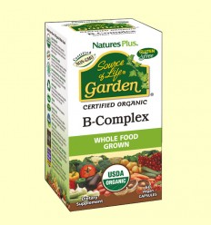 Garden B Complex - Natures Plus - 60 cápsulas