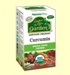 Garden Curcuma 400 mg - Natures Plus - 30 cápsulas