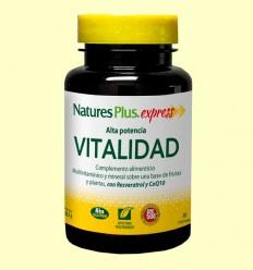 Vitalidad Alta Potencia - Natures Plus - 30 comprimidos