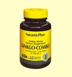 Ginkgo Combo Apoyo a la circulación - Natures Plus - 60 vegicaps