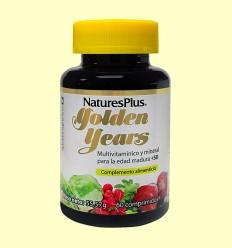 Golden Years - Multivitamínico y Mineral Senior - Natures Plus - 60 comprimidos