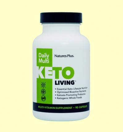 KetoLiving Daily Multi - Natures Plus - 90 cápsulas