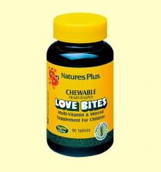 Love Bites Children's Chewable- Natures Plus - 90 comprimidos
