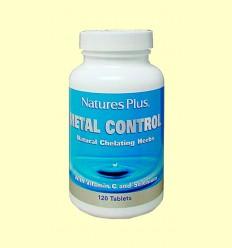 Metal Control - Detoxificación - Natures Plus - 120 comprimidos