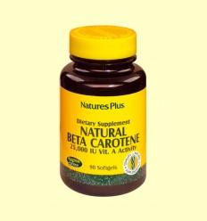 Natural Beta Caroteno - Natures Plus - 90 comprimidos